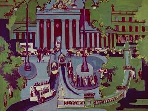 The Brandenburg Gate, Berlin, 1929 by Ernst Ludwig Kirchner