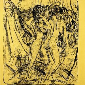Two Nudes at the Window, 1915 by Ernst Ludwig Kirchner