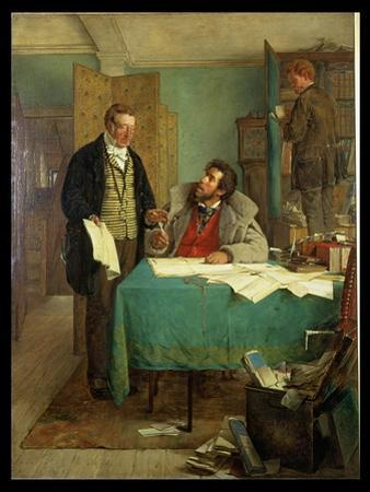 Signing the New Lease, 1868