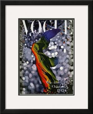 Vogue Cover - December 1945 by Erwin Blumenfeld