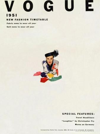 Vogue Cover - January 1951