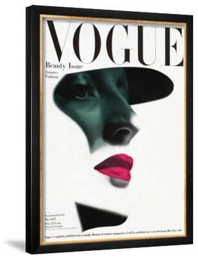 Vogue Cover - May 1945 - In the Shade by Erwin Blumenfeld
