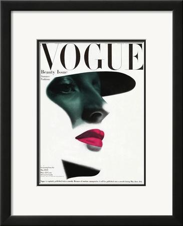 Vogue Cover - May 1945 by Erwin Blumenfeld
