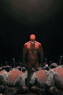 Daredevil No.502 Cover: Daredevil by Esad Ribic