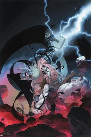 Thor: God of Thunder #10 Cover: Odin, Gorr by Esad Ribic
