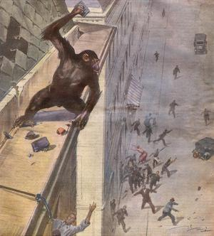 Escaping Monkey, 1932