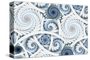 Escher-Like Fractal Spirals