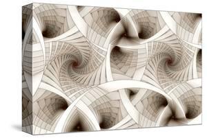Escher-Like Spiral Stairs
