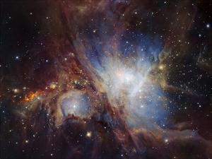 Deep infrared view of the Orion Nebula from HAWK-I by ESO