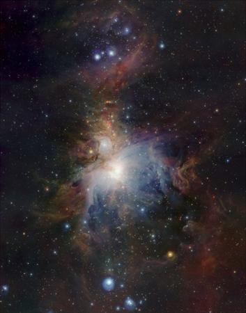 VISTA's infrared view of the Orion Nebula by ESO