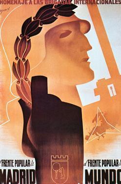 Homage to the International Brigades by Espert