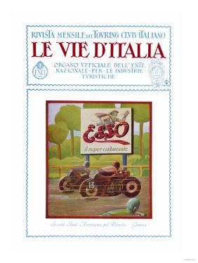 ESSO, The Road of Italy