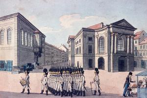 Estates Theatre, Prague, C.1810