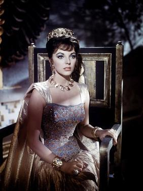 Esther And the king by Raoul Walsh and Mario Bava, with Joan Collins, 1960 (photo)