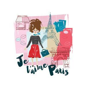 J t'aime Paris by Esther Bley