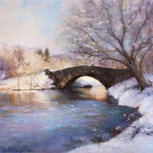 Central Park Bridge by Esther Engelman