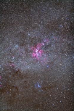 Eta Carinae Nebula Area of the Southern Milky Way