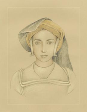 16th Century Portrait II by Ethan Harper