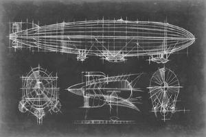 Airship Blueprint by Ethan Harper