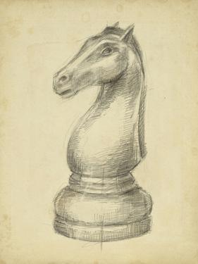 Antique Chess IV by Ethan Harper
