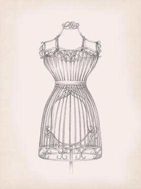Antique Dress Form II by Ethan Harper