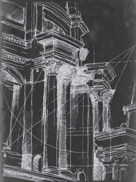 Architectural Schematic I by Ethan Harper