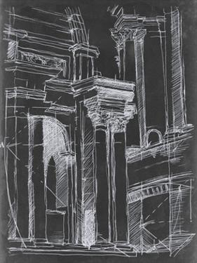 Architectural Schematic II by Ethan Harper