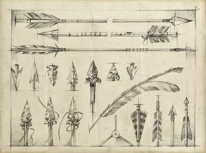 Arrow Schematic I by Ethan Harper