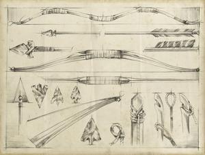 Arrow Schematic II by Ethan Harper