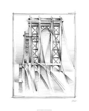 Art Deco Bridge Study I by Ethan Harper