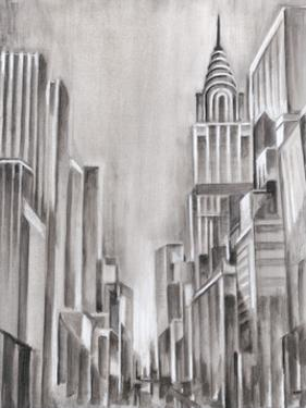 Art Deco Cityscape I by Ethan Harper