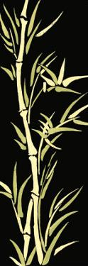 Asian Bamboo Panel II by Ethan Harper