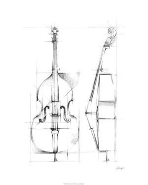 Bass Sketch by Ethan Harper