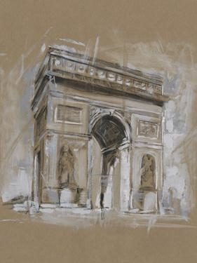 Brushwork Architecture Study I by Ethan Harper