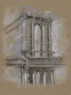 Brushwork Architecture Study IV by Ethan Harper