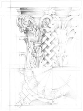 Capital Schematic II by Ethan Harper