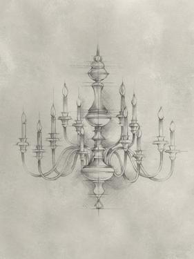 Chandelier Schematic I by Ethan Harper