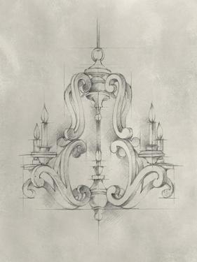 Chandelier Schematic II by Ethan Harper