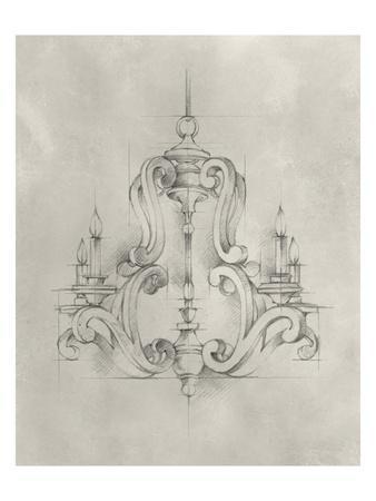 Chandelier Schematic II