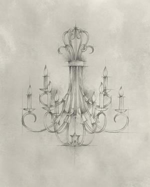 Chandelier Schematic IV by Ethan Harper