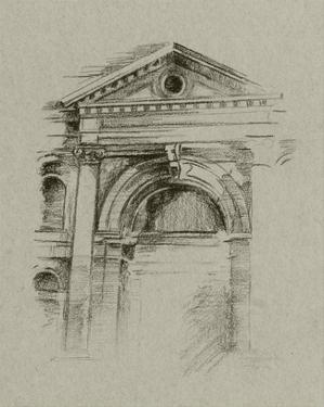 Charcoal Architectural Study II by Ethan Harper