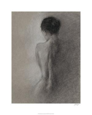 Chiaroscuro Figure Drawing I by Ethan Harper