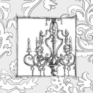 Decorative Chandelier II by Ethan Harper