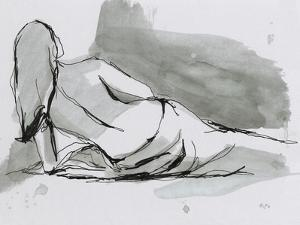 Draped Nude I by Ethan Harper