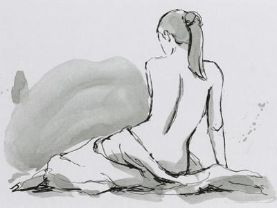Draped Nude IV by Ethan Harper