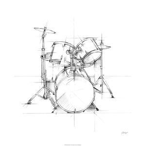 Drum Sketch by Ethan Harper