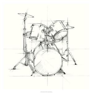 Drum Sketch by Ethan Harper