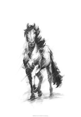 Dynamic Equestrian I by Ethan Harper