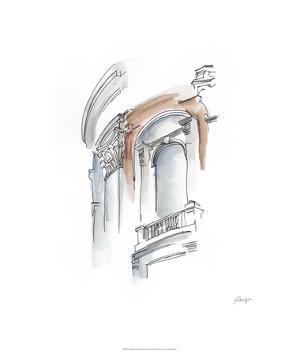 European Watercolor Sketches II by Ethan Harper