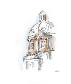 European Watercolor Sketches III by Ethan Harper